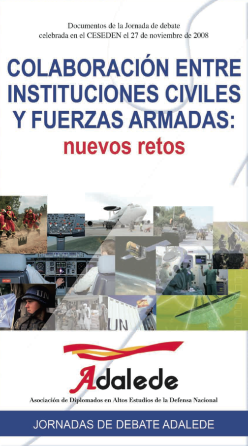 Libro ADALEDE Colaboración entre instituciones civiles y fuerzas armadas